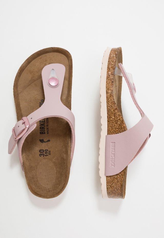 GIZEH - Sandály s odděleným palcem - mauve