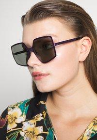 Courreges - Sunglasses - violet/grey - 1