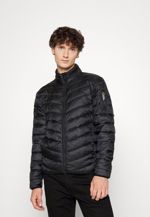 JACKET WITH FILLER - Light jacket - black