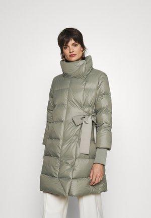 CENTRALE - Down coat - khaki green
