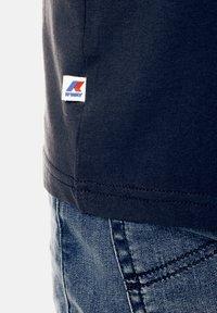 K-Way - PETE MACRO - Print T-shirt - deep blue - 3