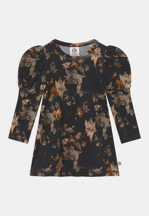 POETRY DRESS - Jersey dress - black