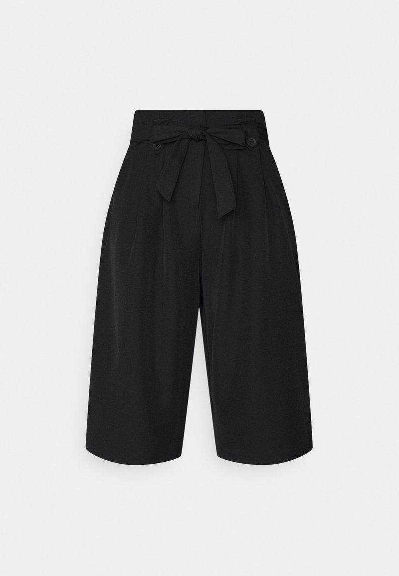 Vero Moda - VMLAYLA HW KNEE SHORTS TLR - Shorts - black
