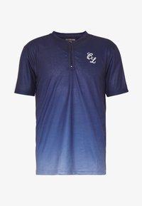 CLOSURE London - CONTRAST FADE - Print T-shirt - navy - 3