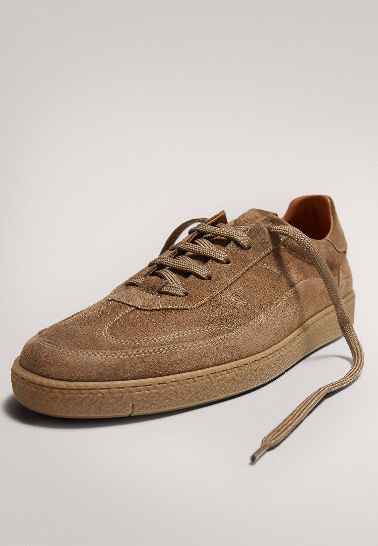 Meilleurs prix Massimo Dutti Baskets basses brown