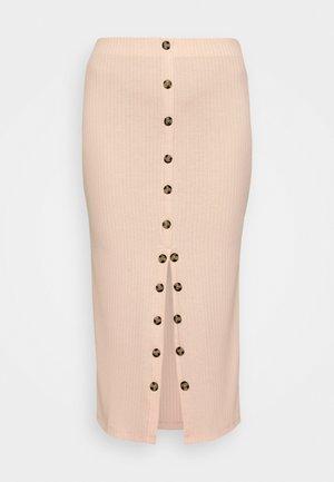 FABEFI - Pencil skirt - rosewood