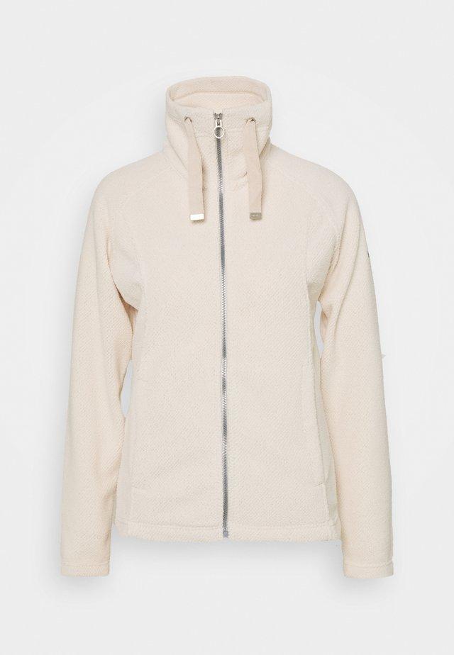 ZAYLEE - Fleece jacket - lightvanilla