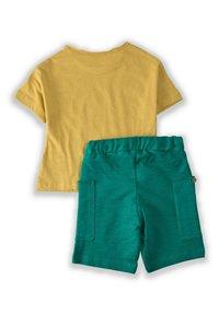 Cigit - SET - Shorts - mustard yellow - 1