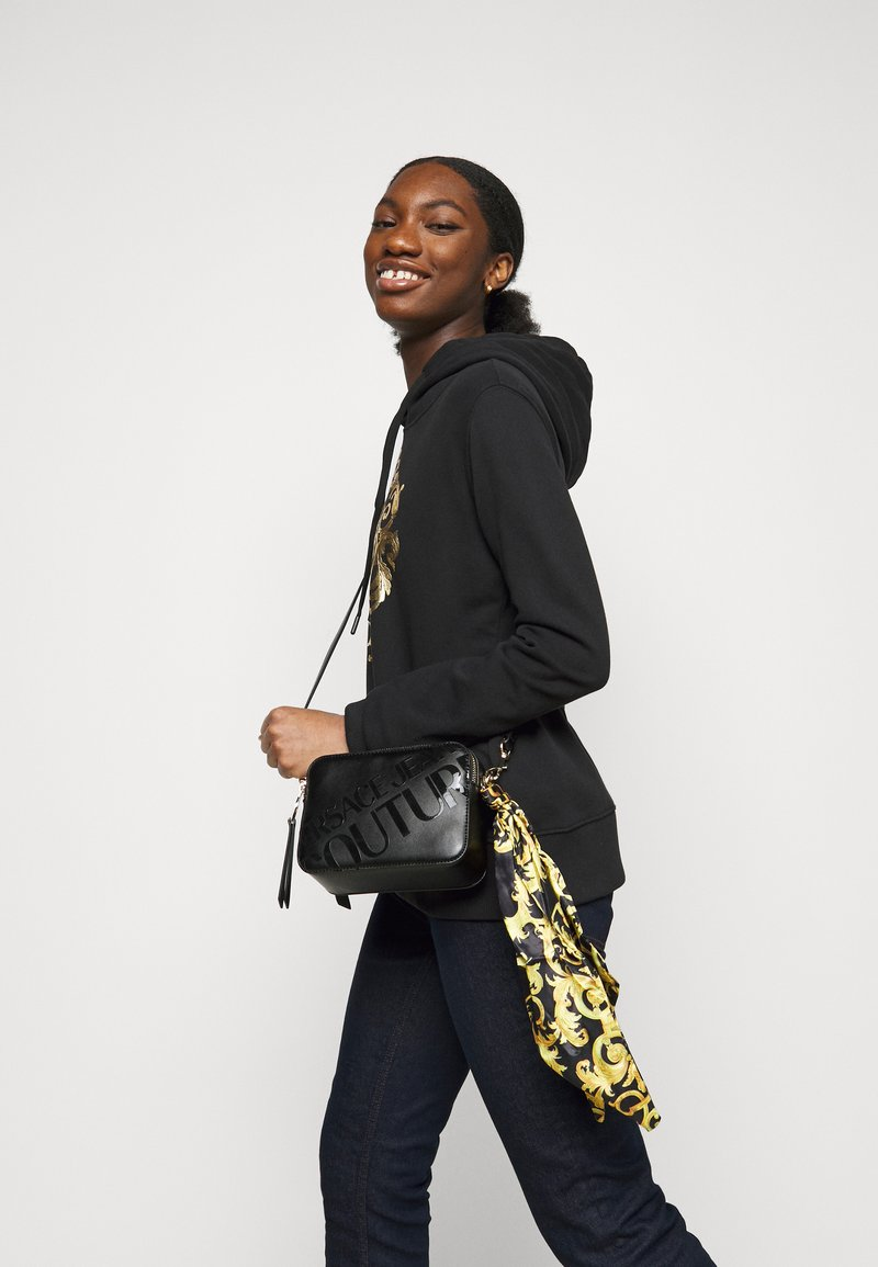 Versace Jeans Couture - THELMA CAMERA BAG - Across body bag - nero