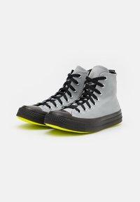 Converse - CHUCK TAYLOR ALL STAR UNISEX - High-top trainers - ash stone/black/lemon - 1