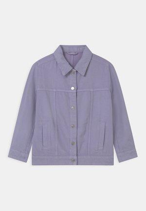Spijkerjas - purple