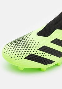 adidas Performance - FOOTBALL BOOTS FIRM GROUND - Moulded stud football boots - signal green/core black/ - 5
