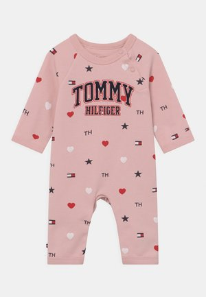 BABY FLAG COVERALL - Jumpsuit - pink
