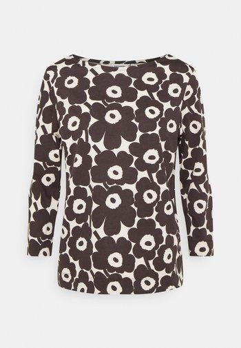 CLASSICS KUVANSA MINI UNIKKO - T-Shirt print - light beige/dark brown