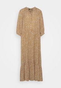 Selected Femme - SLFFRAJA MADISON ANKLE DRESS E - Denní šaty - glazed ginger - 0