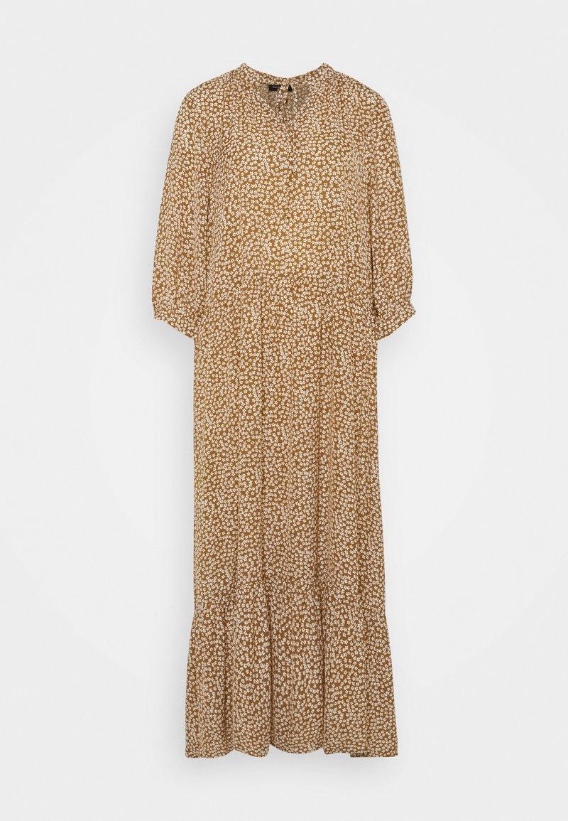Selected Femme - SLFFRAJA MADISON ANKLE DRESS E - Denní šaty - glazed ginger