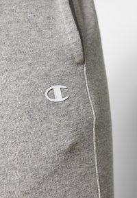 Champion - CUFF PANTS - Tracksuit bottoms - grey melange - 5