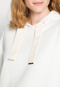 Marc O'Polo - LONG SLEEVE HOODED CUFFS - Hoodie - cotton white - 4