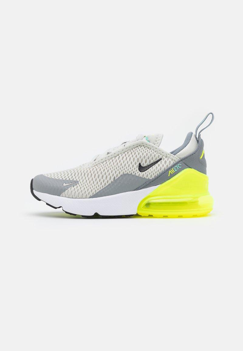 Nike Sportswear - AIR MAX 270 UNISEX - Sneakers basse - light bone/black/volt/particle grey