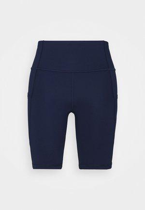 BLACKOUT BIKE SHORT - Tights - elysian blue