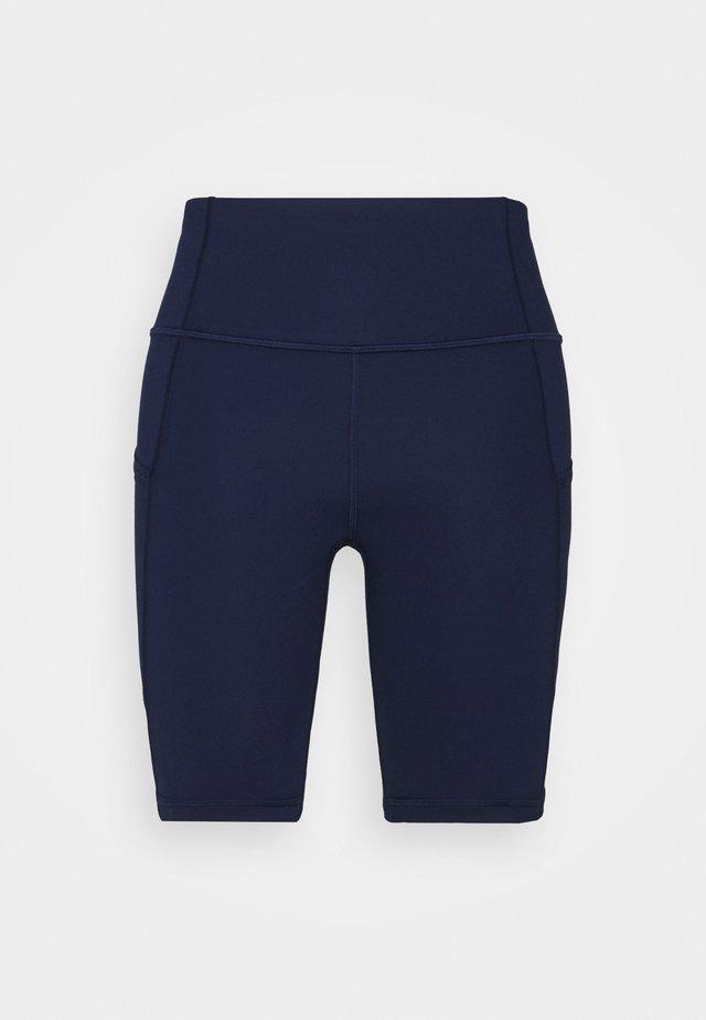 BLACKOUT BIKE SHORT - Leggings - elysian blue