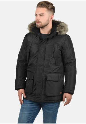 PARKIN - Zimní kabát - black