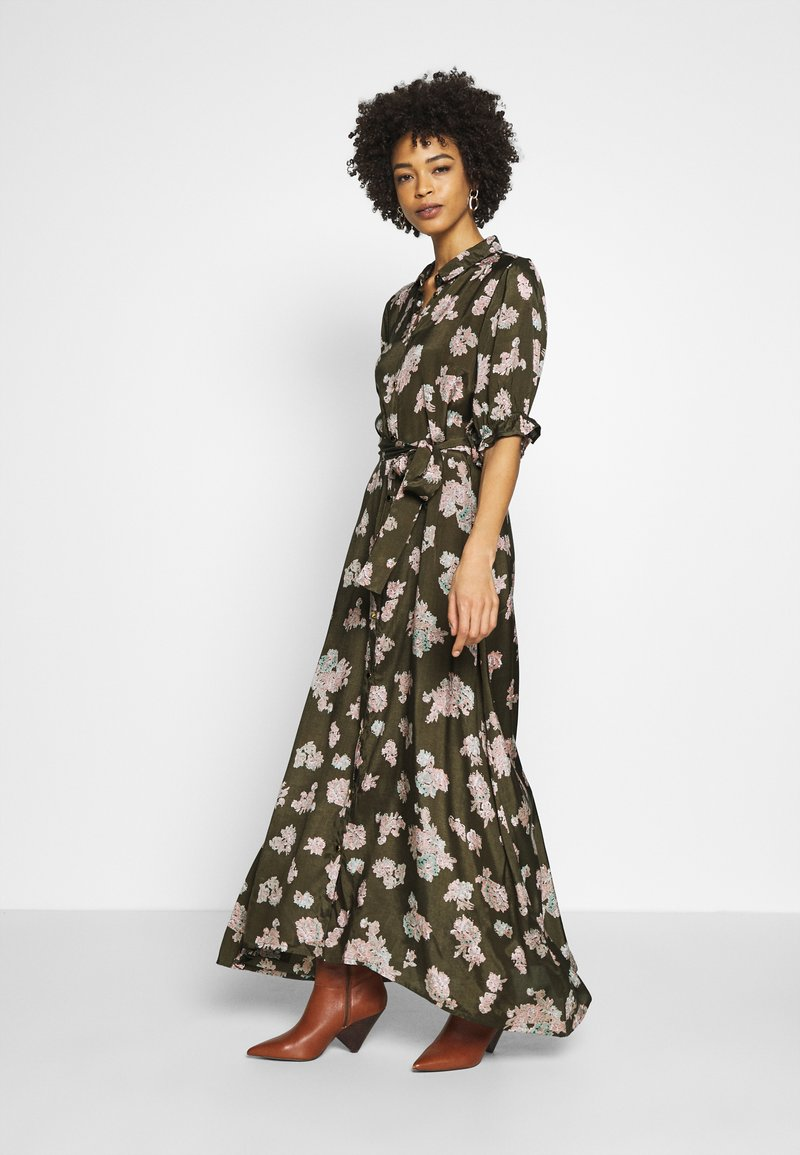 Kaffe - KAVELANA DRESS - Maxi-jurk - grape leaf