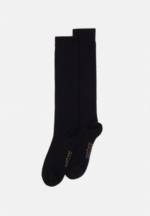 WOMEN KNEE HIGH 2 PACK - Knee high socks - black