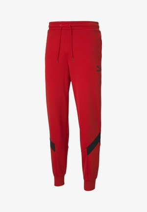 Tracksuit bottoms - high risk red