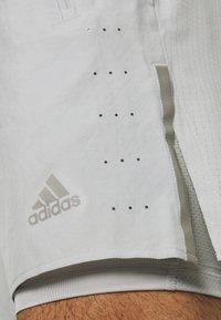 adidas Performance - SATURDAY  SHORT - Sports shorts - grey - 3
