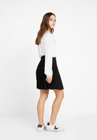 Anna Field Petite - A-line skirt - black