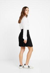 Anna Field Petite - A-snit nederdel/ A-formede nederdele - black - 2