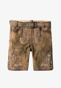 Stockerpoint - HANS - Leather trousers - havana - 7