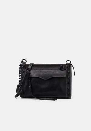 MAB CROSSBODY STUDS - Across body bag - black