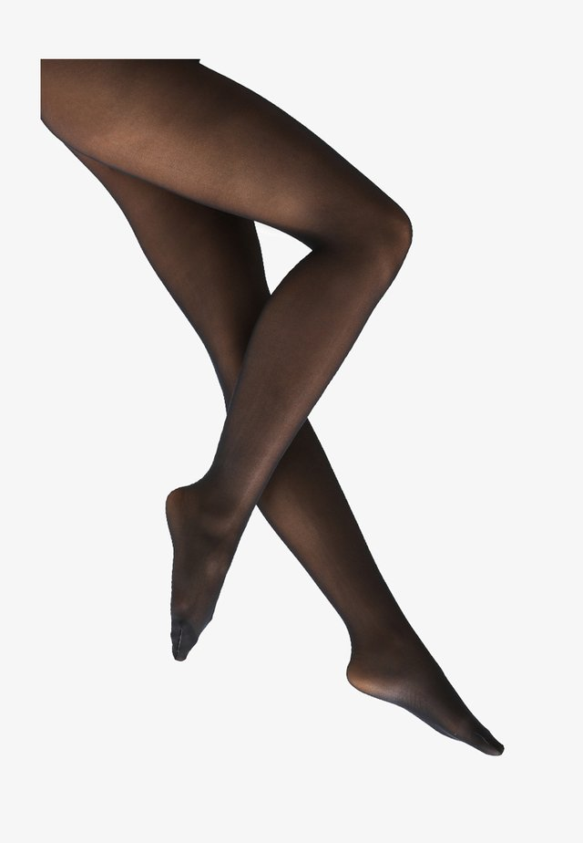 40 DEN SATIN LOOK - Collants - marine