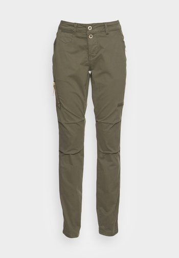 VALERINE PANT - Cargo trousers - grape leaf