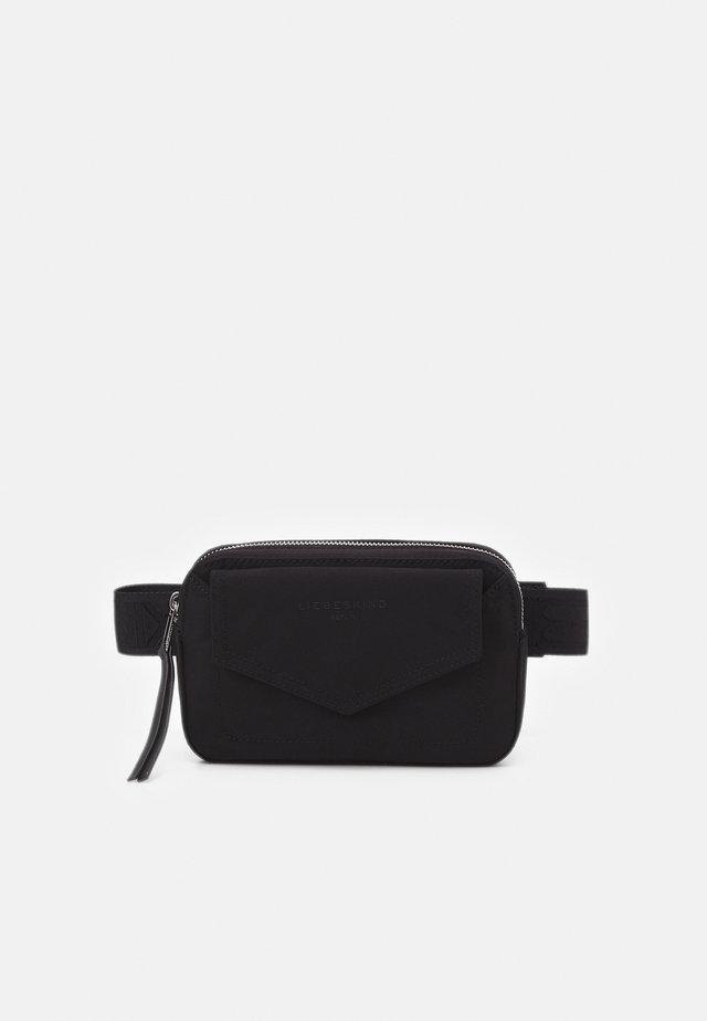 BEBELTBAG BETTY - Bæltetasker - black