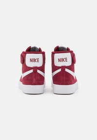 Nike Sportswear - BLAZER MID '77 UNISEX - Sneakers hoog - team red/white/black - 2