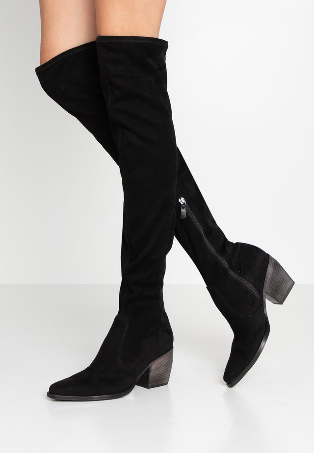 LUNA - Over-the-knee boots - black