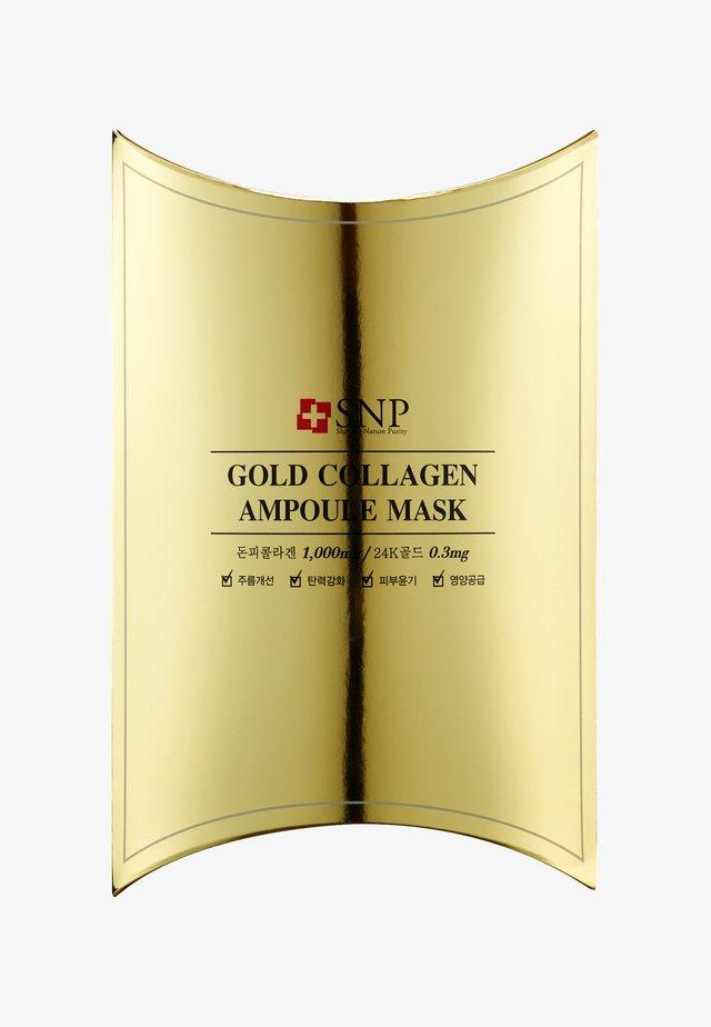 SNP GOLD COLLAGEN AMPOULE MASK 10 PACK - Face mask - -