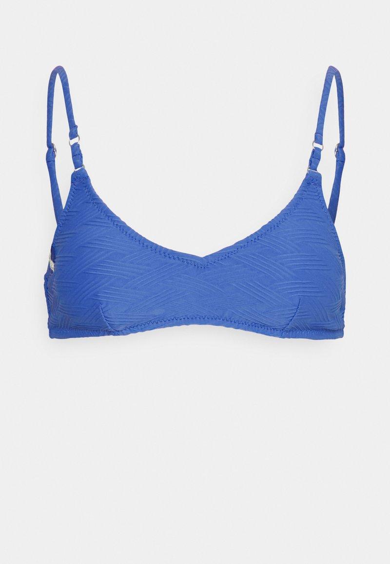 Rhythm - MALDIVES RING TRILETTE - Haut de bikini - cobalt