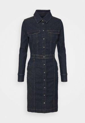 LUXE DRESS DEEP RIVER - Spijkerjurk - dark blue