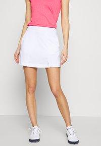 Callaway - TUMMY CONTROL SKORT - Sportovní sukně - bright white - 0