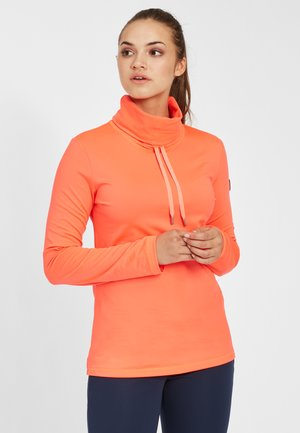 CLIME - Fleecepullover - fiery coral