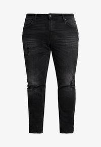 Jack & Jones - JJITIM JJORIGINAL - Jeans straight leg - black denim - 4