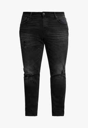 JJITIM JJORIGINAL - Jean droit - black denim