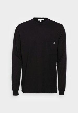 THUNDER  - T-shirt à manches longues - black