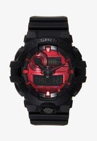 G-SHOCK - GA-700 METALLIC - Digitaal horloge - black/red - 0