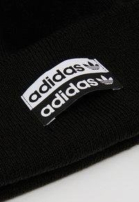 adidas Originals - CUFF  - Bonnet - black/white - 5
