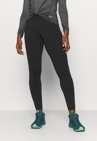 Arc'teryx - DELANEY WOMEN'S - Leggings - black - 0